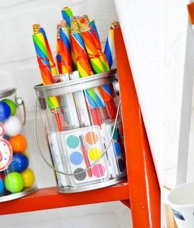 fiesta de arte para niños