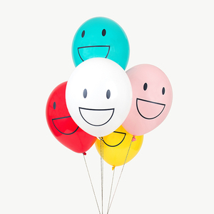 globos con caras contentas decora tu fiesta de cumpleaños con caras felices