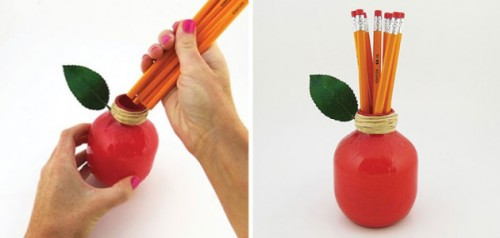 lapicero manzana bombilla