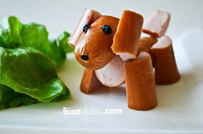 recetas para fiestas infantiles con salchichas