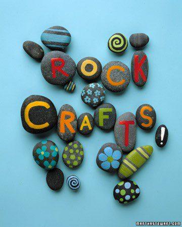 rocas manualidades