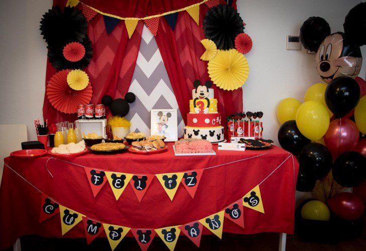 01 fiesta temática de mickey mouse