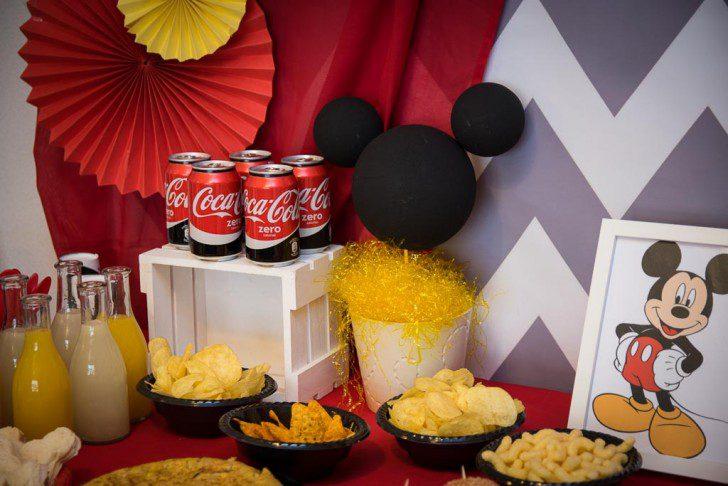 02 fiesta temática de mickey mouse