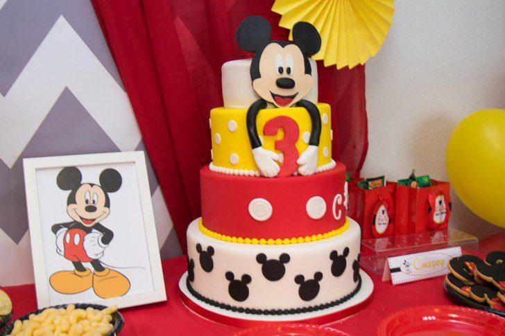 04 fiesta temática de mickey mouse