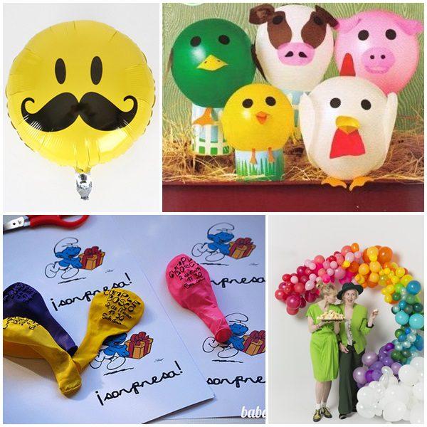 7 ideas para decorar con globos