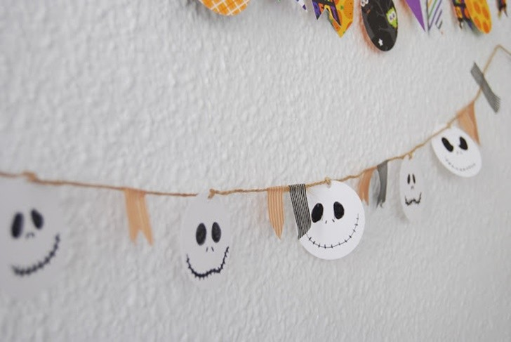 Halloween garland for kids (12)