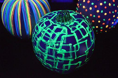 Calabazas brillantes de Halloween