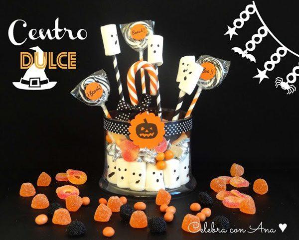 Centro de Mesa para Halloween