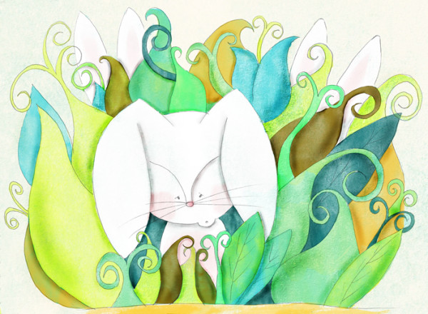 cuento en ingles the bunny without ears