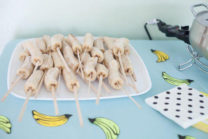 cumpleaños banana natural