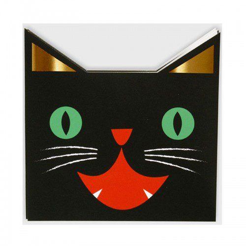 fiesta halloween gato