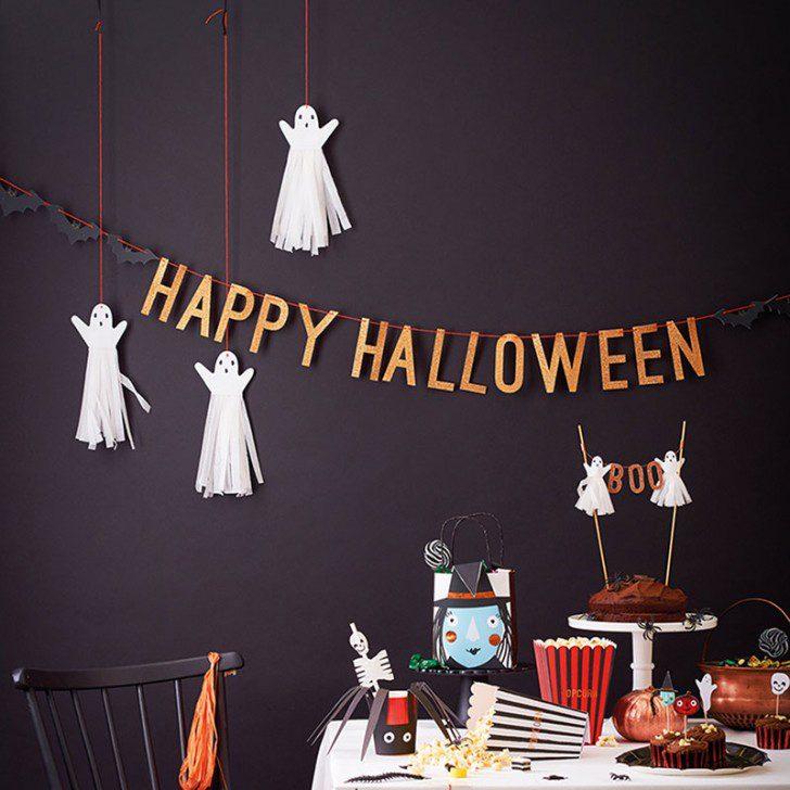 fiesta halloween guirnaldas