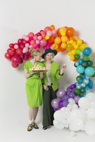 globo arco iris