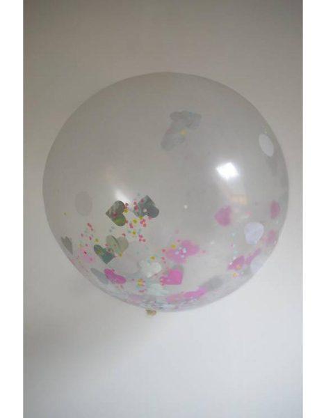 globo con confetti