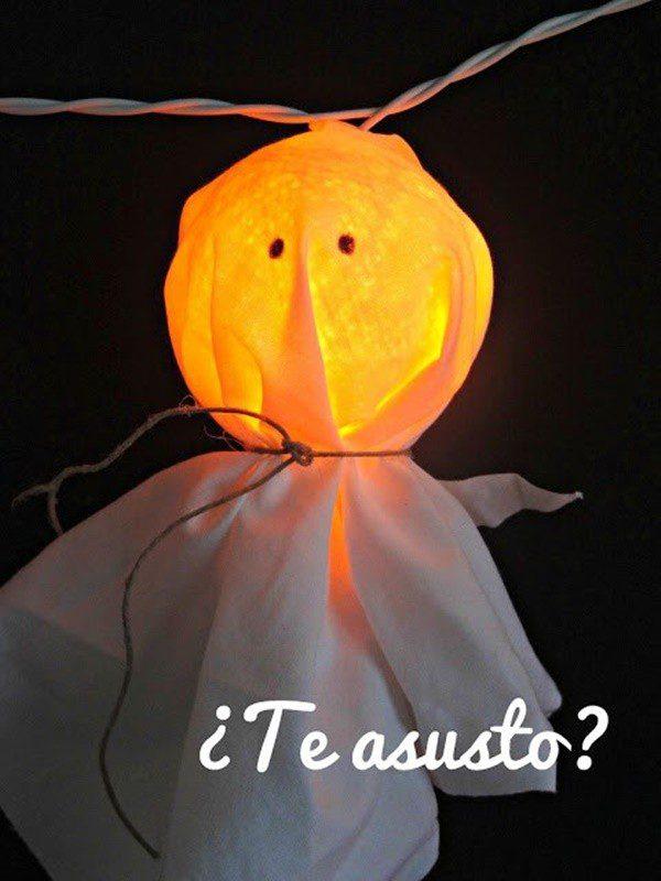 guirnalda para halloween luces