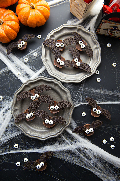 Deliciosos mini pasteles de Halloween