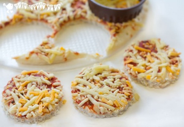 mini pizzas para niños