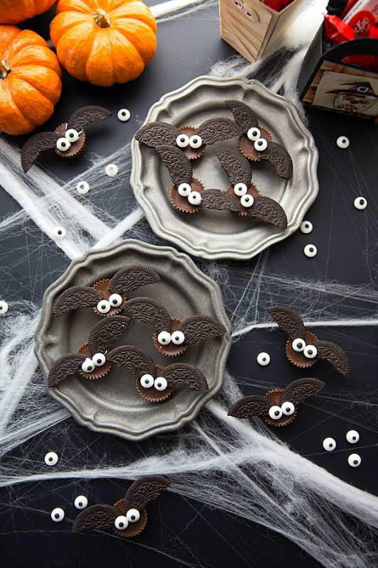 pasteles de chocolate halloween