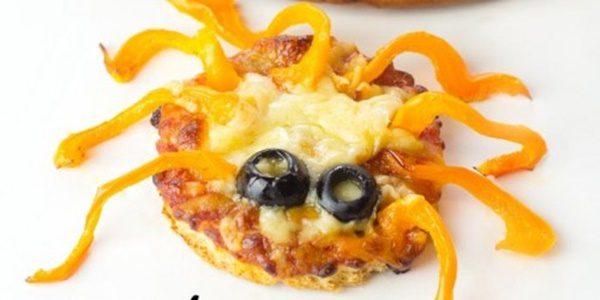 pizza graciosa para niños