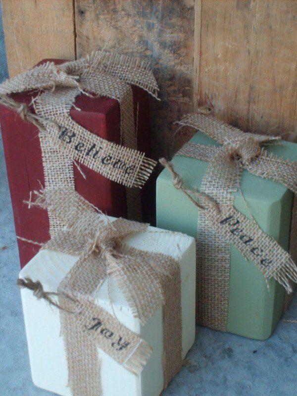 15 ideas para envolver regalos de navidad - 1