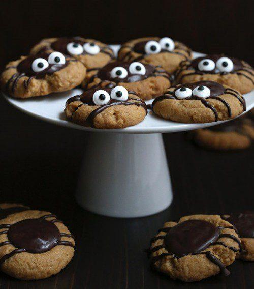 galletas de crema de cacahuete