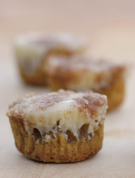 muffin de calabaza y queso