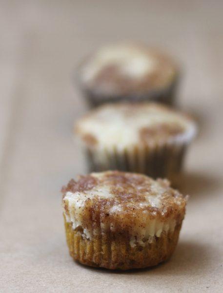 Deliciosos muffins de calabaza y queso