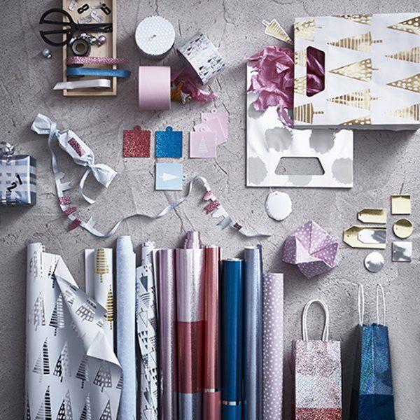 papel regalo ikea navidad