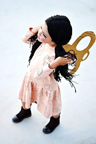 peluca de muñeca