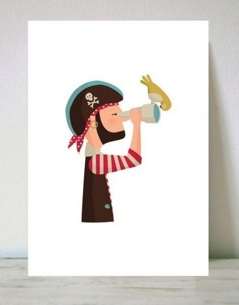 tutticonfetti cuadros pirata