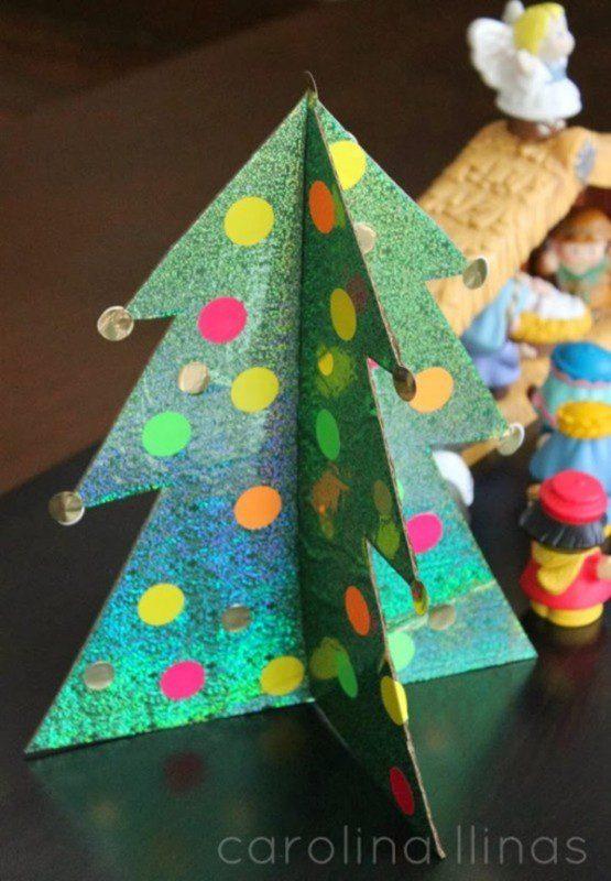 Árbol-de-Navidad-en-3D-para-hacer-con-niños-pegatinas1-555x800