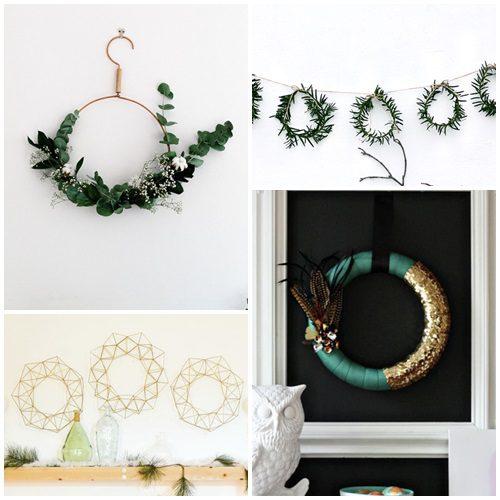 8 coronas de Navidad diferentes