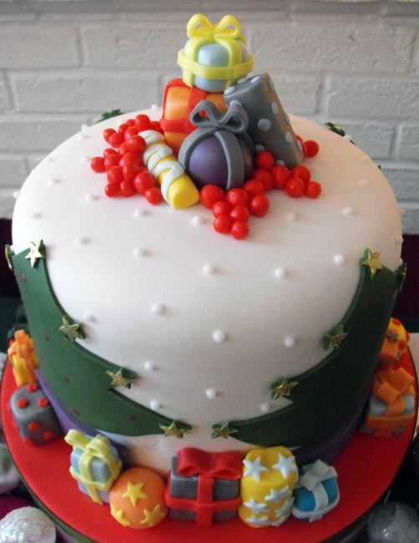 9 tartas de invierno - regalos