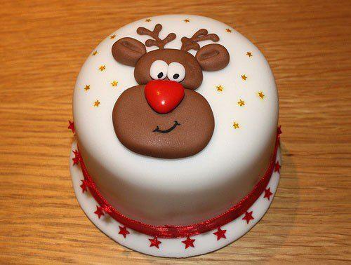 9 tartas de invierno - reno