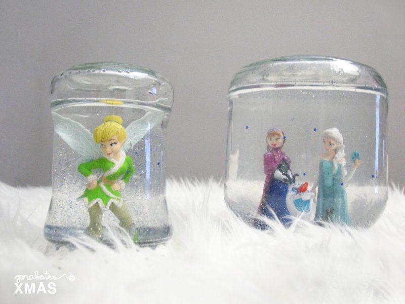 Bola de nieve hecha en casa de Frozen