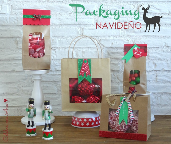 PACKAGING NAVIDEÑO EN KRAFT