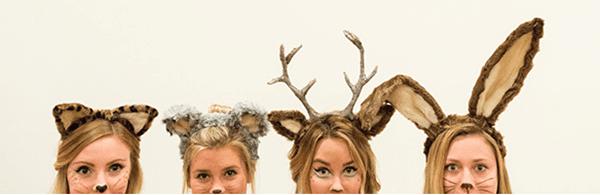 Disfraz de Animales para esta Navidad