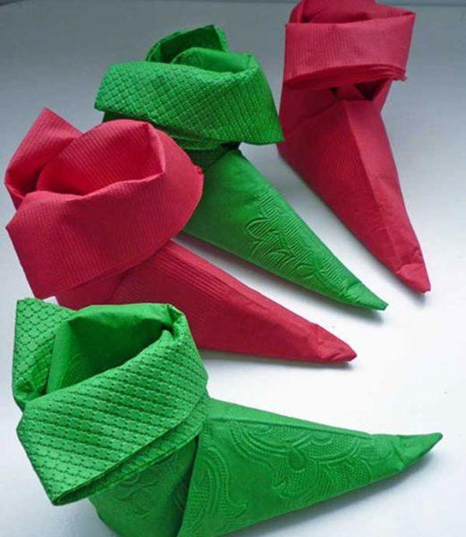 doblar servilletas elfo