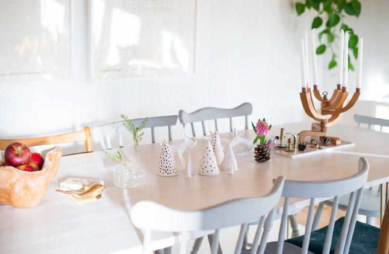 Precioso centro de mesa de arcilla DIY