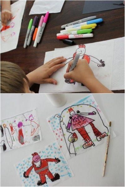 velas-decoradas-por-niños-para-navidad-dibujos-infantiles