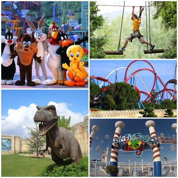 Viajando con Niños: 10 Parques de Atracciones