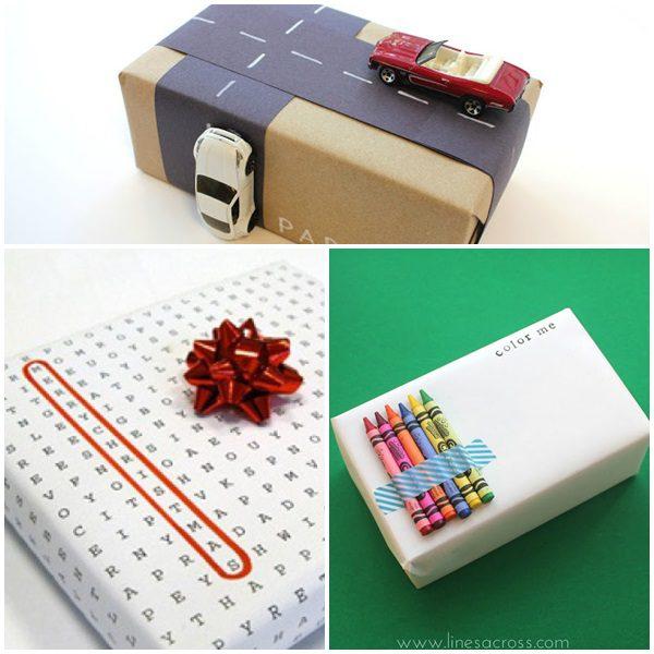 4 ideas para envolver regalos para niños