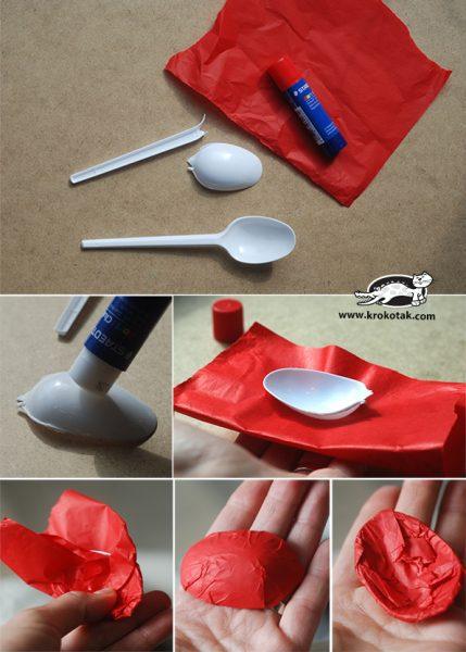5 Manualidades con Cucharas de Plástico