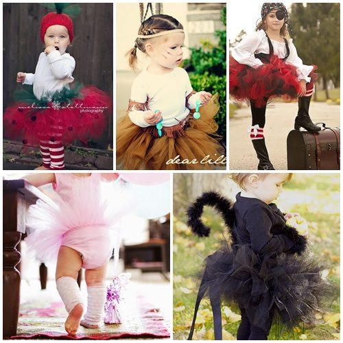 Disfraces con Tutú Caseros para Niñas