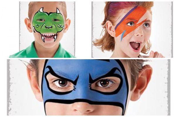 Pintura para la cara 7 ideas muy fáciles