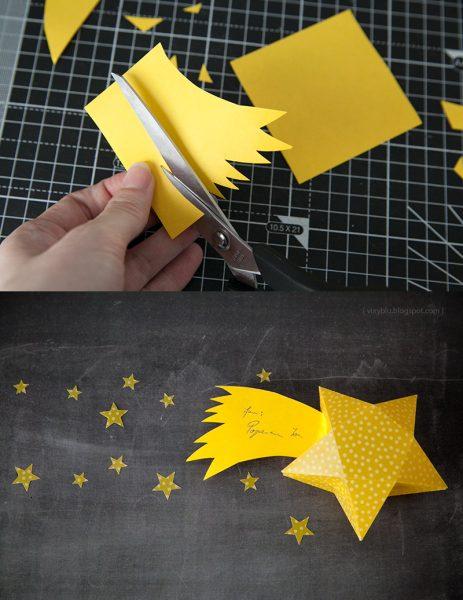 cajita de estrella tutorial fin cola cometa