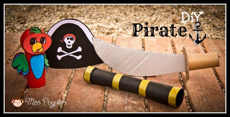 Complementos para Disfraz Casero de Piratas