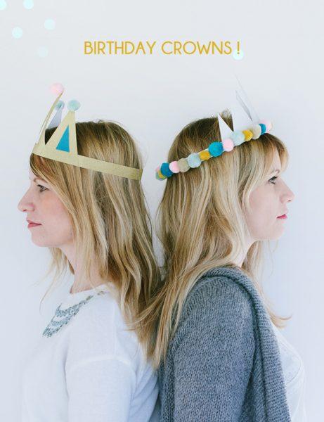Corona para cumpleaños
