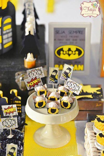 Fiesta De Cumpleanos De Batman Fiestas Y Cumples