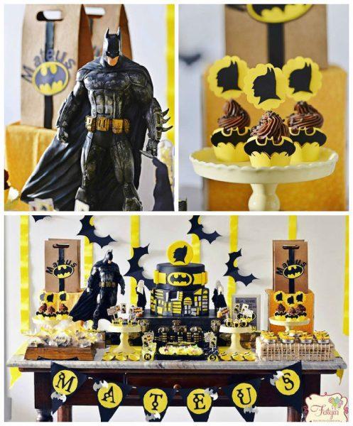 Fiesta de cumpleaños de Batman